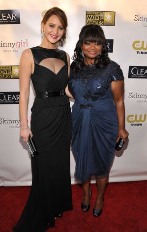 Jennifer Lawrence  and Octavia Spencer