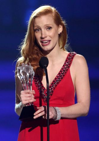 Jessica Chastain win best Actress award