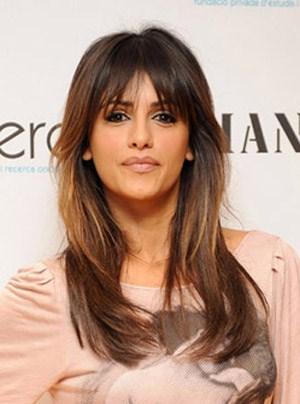 Actress Monica Cruz Hairstyle
