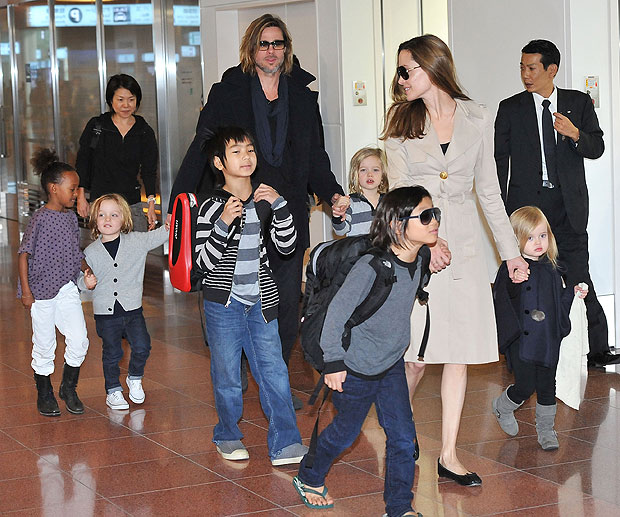 How many children do Brad and Angelina have  Mic