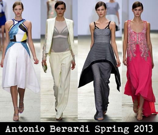Antonio Berardi Spring 2013