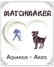 Aquarius to Aries Horoscope Compatibility