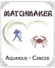 Aquarius to Cancer Horoscope Compatibility