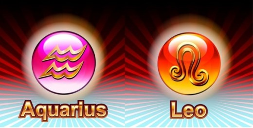 Aquarius to Leo Horoscope Compatibility