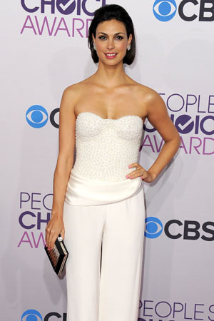 Morena Baccarin attends the 2013 People's Choice Awards