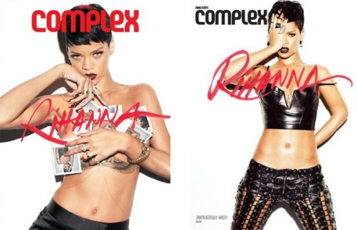 Rihanna Complex Selfies