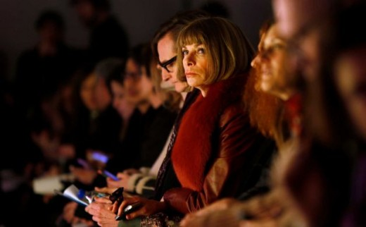 Fashion editor Anna Wintour