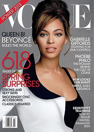 Beyoncé in Vogue