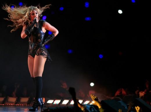 Beyoncé presided over a Super Bowl halftime show