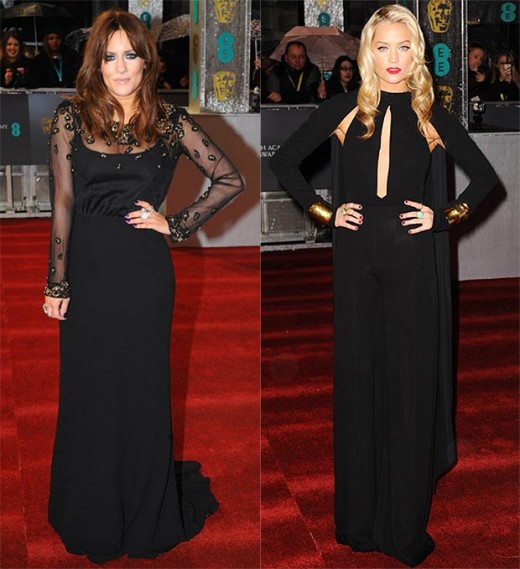 Caroline Flack and Laura Whitmore wear it well