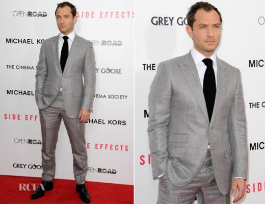 Jude Law In Tom Ford 'Side Effects' New York Premiere