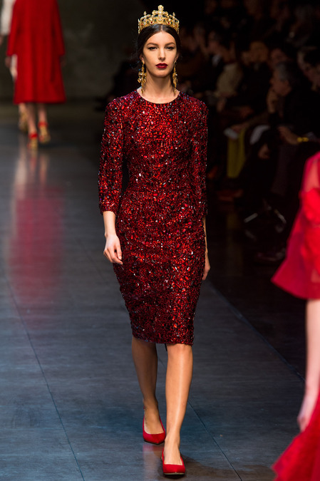 Milan Fashion Week Fall Winter 2013 RTW Dolce Gabbanai