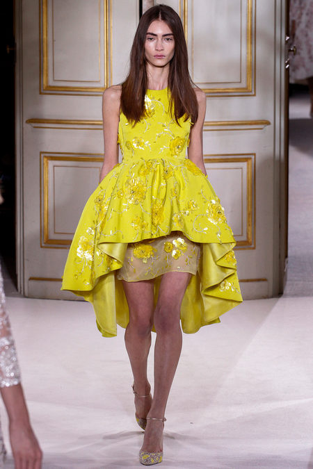 Paris Fashion Week Spring 2013 Couture Giambattista Valli Dresses