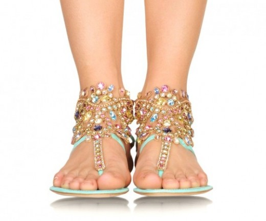 Rene Caovilla's Flat Sandals