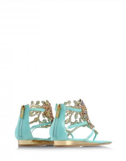 Rene Caovilla's Flat Sandals Collection