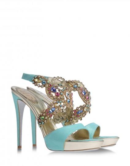 Rene Caovilla's Flat Sandals Design 2013