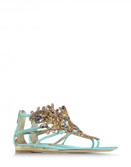 Rene Caovilla's Flat Sandals Design