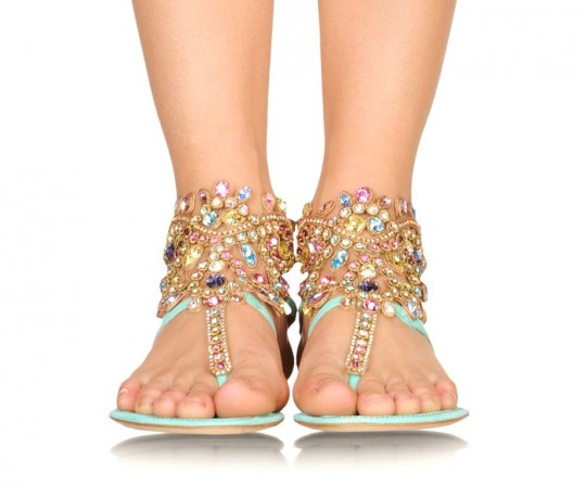 Rene Caovilla Embellished Sandals Collection 2013