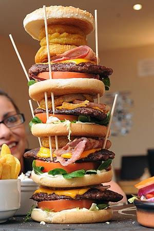 Scotland's Biggest Burger