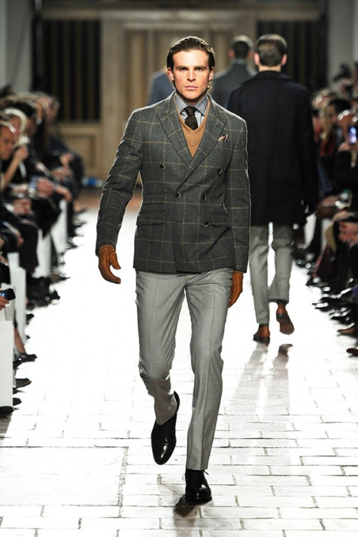 Hackett london Fashion Week