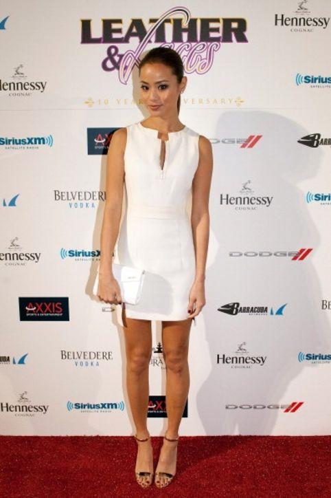 jamie chung chic dress