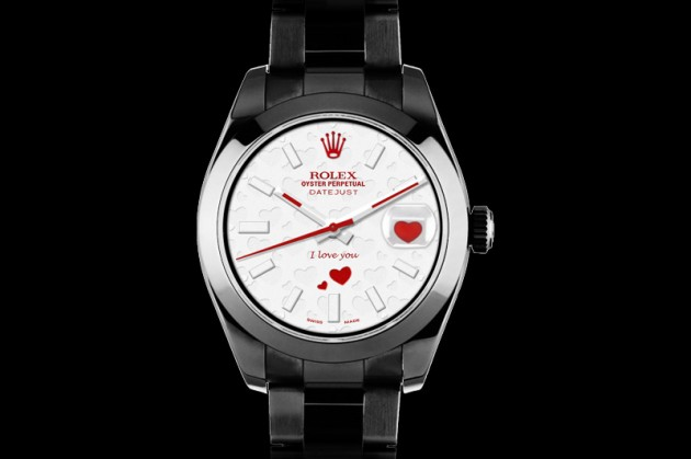 Rolex Valentine Day 2013 Watches Fashion Style Trends 2019