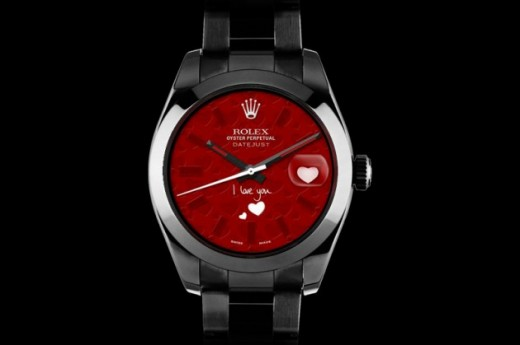 Valentines day 2013 Rolex watches