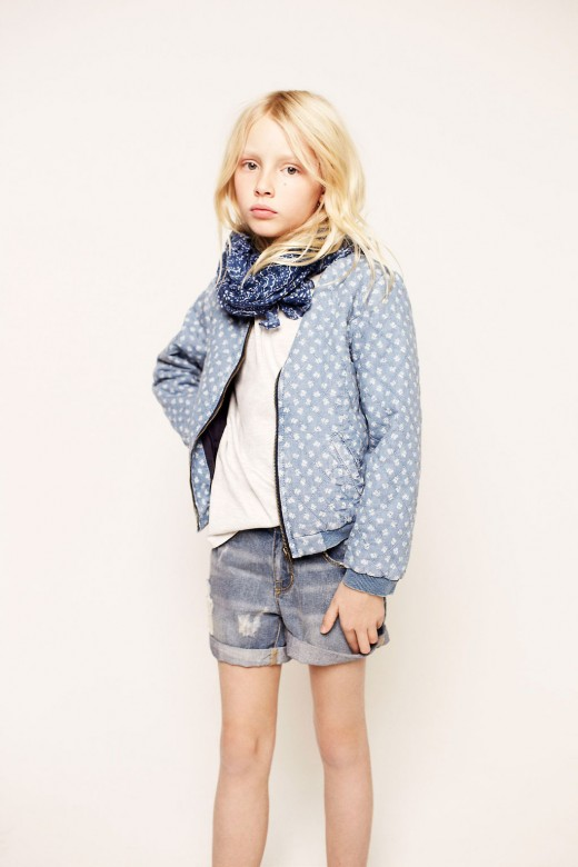 zara spring 2013 kids wear Design