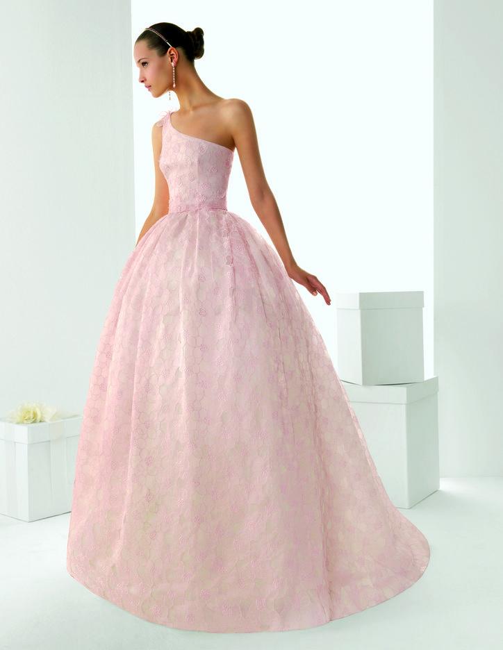 3 blush colored rosa clara wedding dresses looks wonderful for Blush wedding dress for sale