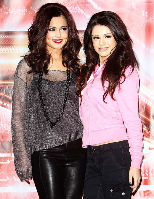 Cher with Cheryl before they fell out