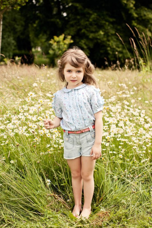 Chloe Spring Summer 2013 kidswear
