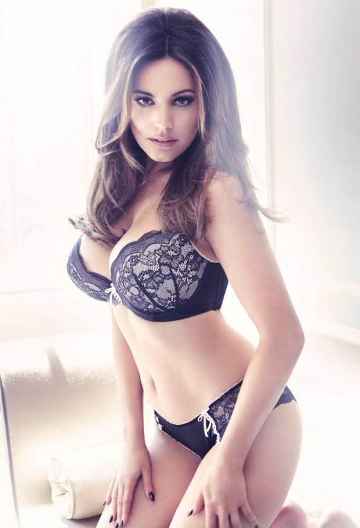 Kelly Brook Lingerie Snapshot 2013