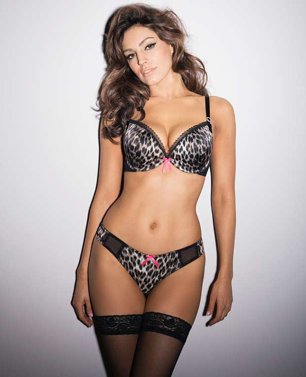 Kelly Brook Ultimo Lingerie Snapshot 2013 Fashion Style