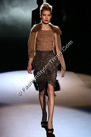 Badgley Mischka New York Fall Collection 2013