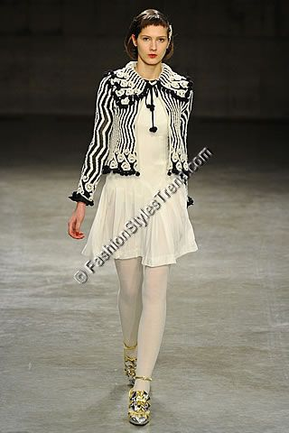 Meadham Kirchhoff London Fall Collection 2013