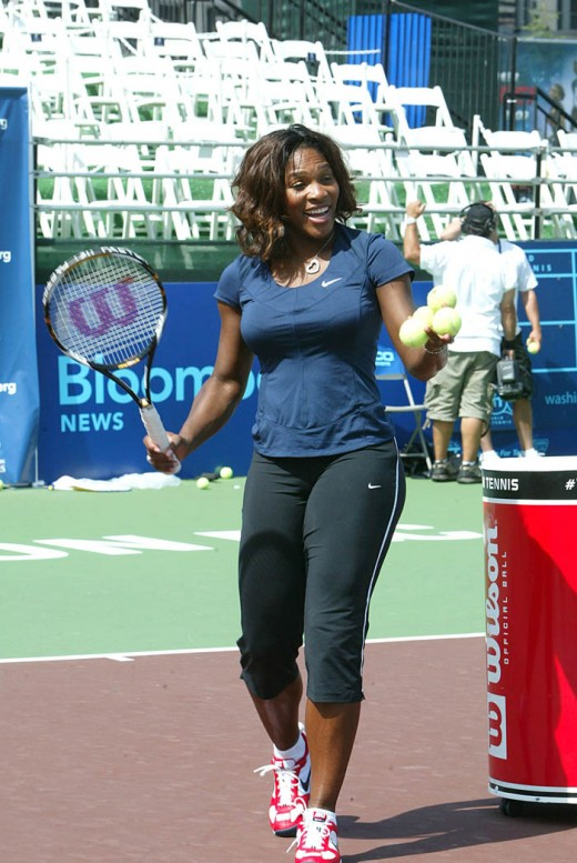 Serena Williams in hot jeans