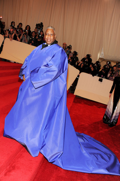 Andre Leon Talley on Met Gala Red Carpet