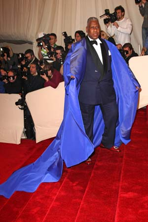 Andre Leon Talley on Met Gala 2013