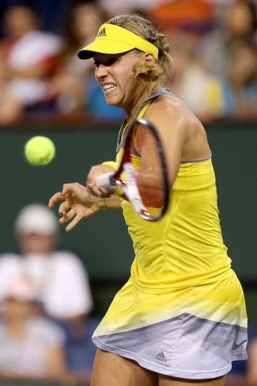 Angelique Kerber Playing Shot pic