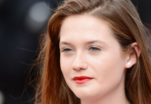 Actress Bonnie Wright