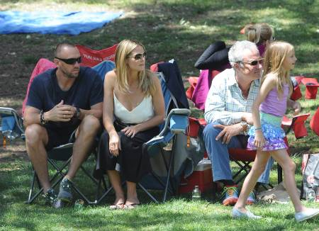 Heidi Klum with her bodyguard boyfriend