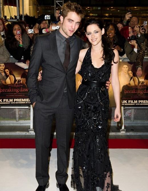 Kristen Stewart and Robert Pattinson pictured together