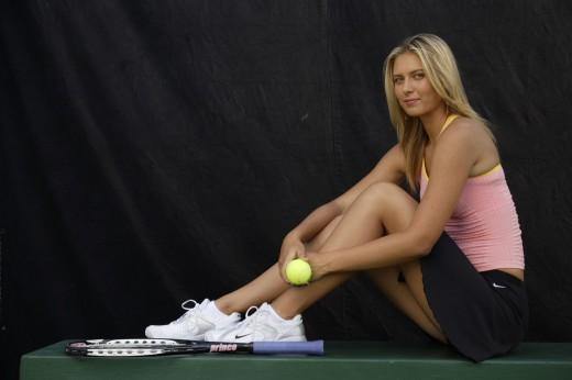 Maria Sharapova in hot dress