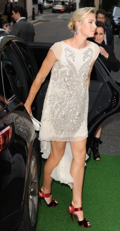 Maria Sharapova hot dress pic