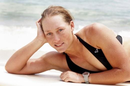 Samantha Stosur on Beach image