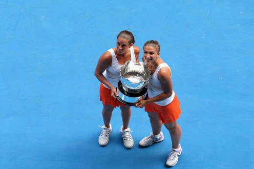 Sara Errani with Partner