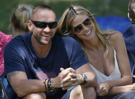 Heidi Klum and Bodyguard Boyfriend