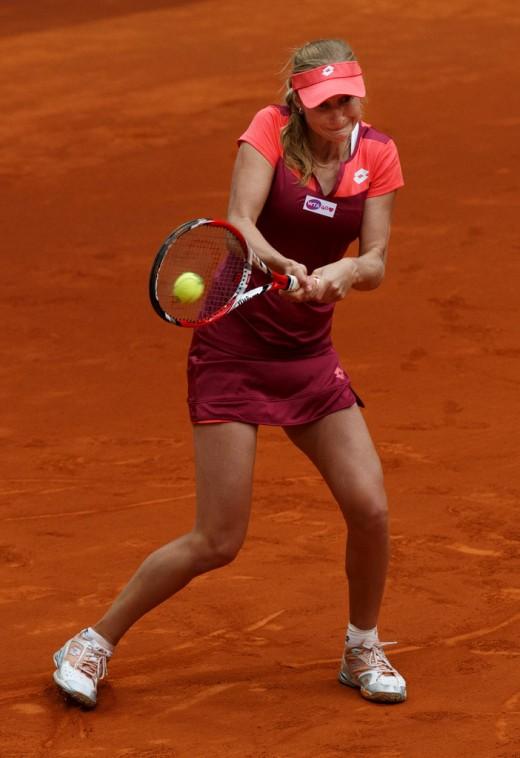 Varvara Lepchenko Hot Still