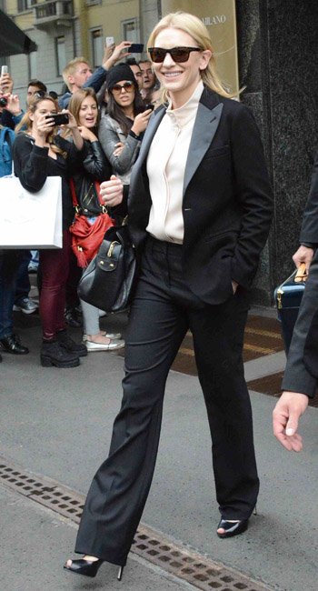 The Best Dressed this Weekend Cate Blanchett