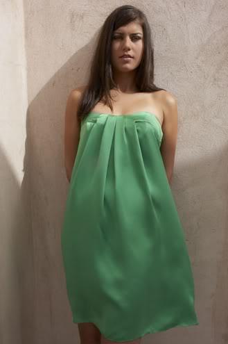 Sorana Cirstea hot green dress photo